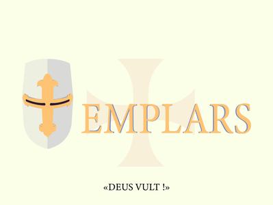 Templars minimalist logo typography illustration minimalism icon graphiste logo design art branding design
