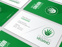 Humano Vegano Businesscard