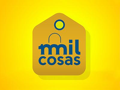 Milcosas Logo shopping brand branding design logo