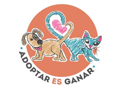 Adoptar es Ganar straydog mutt mongrel animals cats rescued dogs adoption