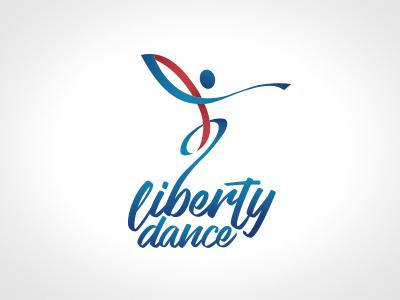 Liberty Dance logo brand dance branding
