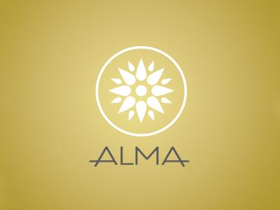 Alma sale property estate assets real building logo brand branding