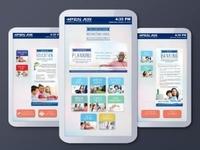 Interactive Brochure Touchscreen Display