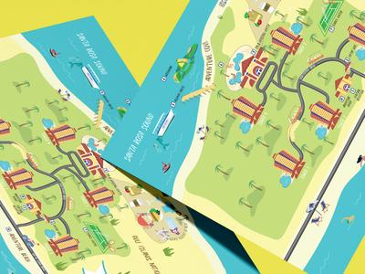 Portofino Island Resort Property Map