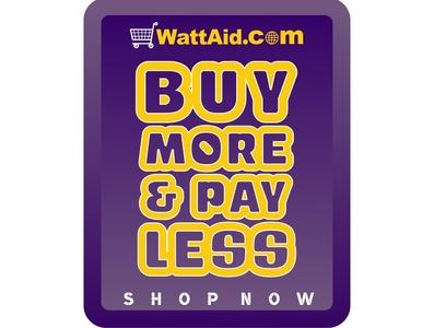 Buy More web branding design