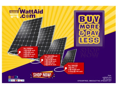 Solar Panel Discount Sales branding web design