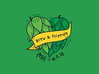 Brew & Friends Fest Logo