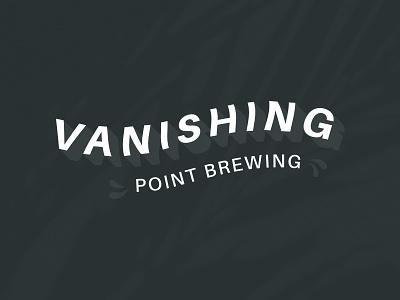 Vanishing Point brewery branding logo