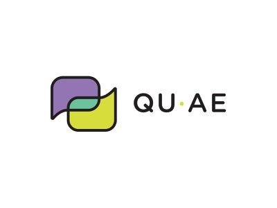 Qu Ae logo branding