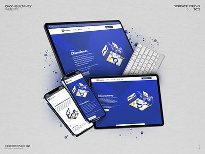 CKconsultancy - Responsive website management website consultancy website online web ux website branding logo graphic design ui