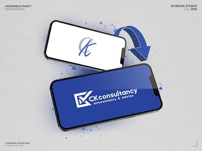 CKconsultancy - (Logo) Rebranding consultancy branding design logo abstract logo exclusive logo branding concept brand identity logotype branding