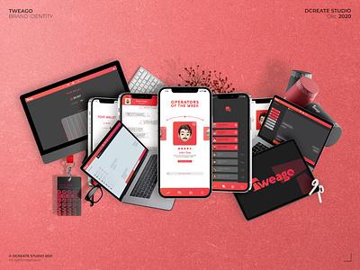 Tweago - Brand Identity brand identity exclusive logo platform design app branding graphic design design logo branding concept logotype branding ux ui