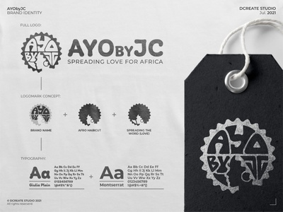 AYObyJC - African Brand Identity south-africa africa clothing brand design brand design logo design clothing company corporate logo design love for africa spreading african love african clothing clothing logo clothing branding african branding african logo design abstract logo logo exclusive logo brand identity logotype branding