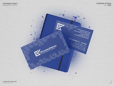 CKconsultancy - Business cards branding concept logotype design consultancy consultancy branding corporate branding minimal design minimalistic corporate design brand design branding 3d design 3d brand and identity brand identity businesscard business card design