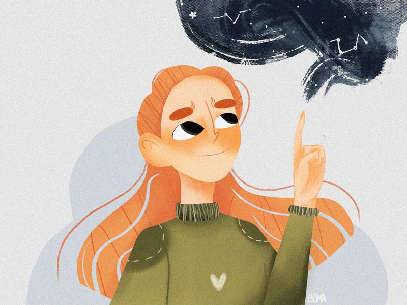 CONSTELLATION illustration artist art
