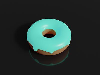 "Baja ""Radioactive"" Blast Doughnut practice doughnut"