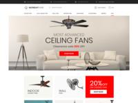 fans online eCommerce website