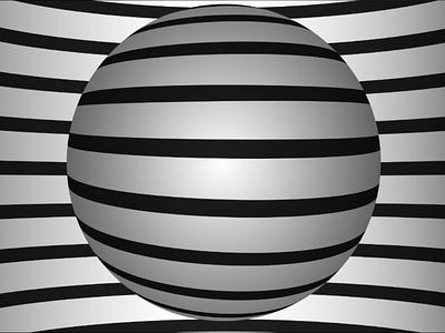 3D illusion graphicdesign illustration illusion 3d
