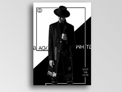 Minimal poster fashionposter gucci black and white photoshop minimal poster
