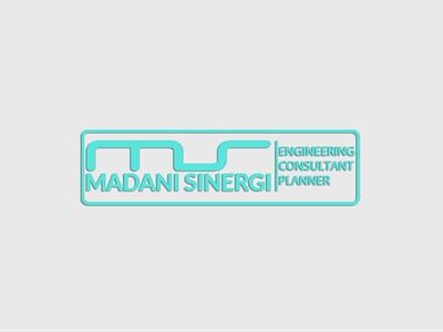 Madani Sinergi Consultant logos simple brand design branding company logo app vector logo design