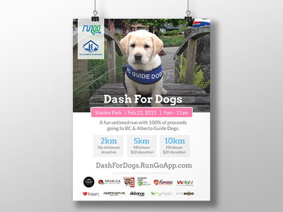 Dash For Dogs Poster