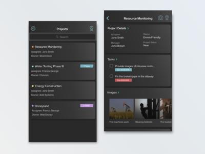 ~Gradient~ Project Management App