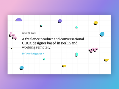 New 90s Portfolio ⭐️ product uiux design freelance pink gradient 90s pattern 80s web portfolio 90s
