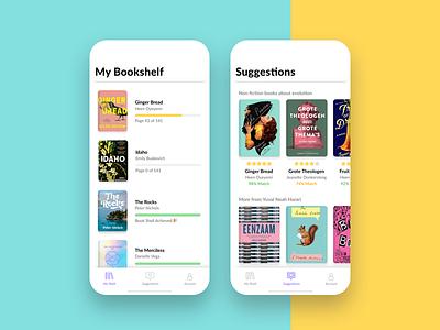 Bookshellf  📓 suggestions reading ratings reviews data research ux ui book bookshelf