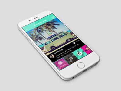 Group photo sharing app