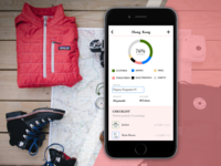 Travel packing efficiency and planning iphone app