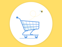 Empty Shopping Cart Illustration