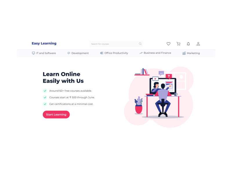Landing Page - Daily Design Challenge 003 ux web uiuxdesign design