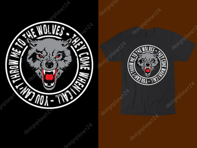 Wolves T-shirt Design. wolves wolf vector ux ui t shirt design vector reviews t shirt design vector tshirtdesign free tshirt design thanksgiving day logodesign logo branding brand design tshirt design t shirt design merch by amazon shirts merch by amazon illustration design
