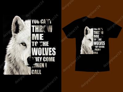 Wolves T-shirt Design. animals thanksgiving day ux ui vector wolves wolf t shirt design vector reviews t shirt design vector free tshirt design logodesign logo branding brand design tshirt design t shirt design merch by amazon shirts merch by amazon illustration design