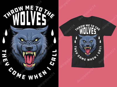 Wolves T-shirt Design. wolves wolf thanksgiving day vector ux ui t shirt design vector reviews t shirt design vector free tshirt design graphic design logodesign branding logo brand design tshirt design t shirt design merch by amazon shirts merch by amazon illustration design