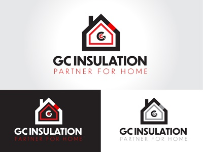 GC Insulation Logo design logo branding graphic design