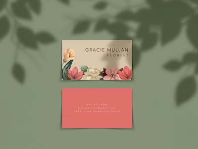 FREE Horizontal Business Card Mockup graphic design branding mockup free download aesthetic branding mockup free mockup download free business card mockup