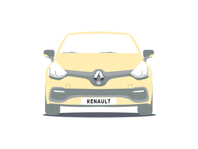 Renault car driver boys pattern clio renault car