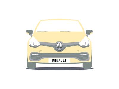 Renault car driver boys pattern clio renault car