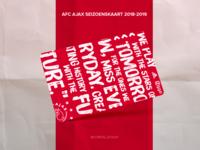 Concept design AFC Ajax seizoenskaart 2018