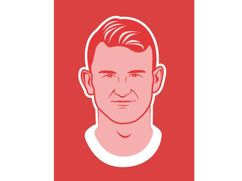 Soccer illustration Matthijs de Ligt vector character illustrator sports sport dutch illustration flat soccer afc ajax ajax