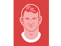 Soccer illustration Matthijs de Ligt