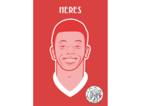 David Neres Brazilian Soccerplayer AFC Ajax