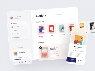 LIBRA | Editorial app 📚 app edtech platform application mobile app ios app product design product card dashboard online education reader app book reader online platform educational edtech app education editorial app edtech