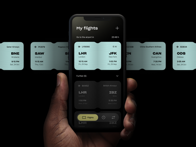 WeFly | Flight planner flight ticket app schedule app flight planner flight manager flight ticket mobile ui application app time management planner flight app ios mobile app product design