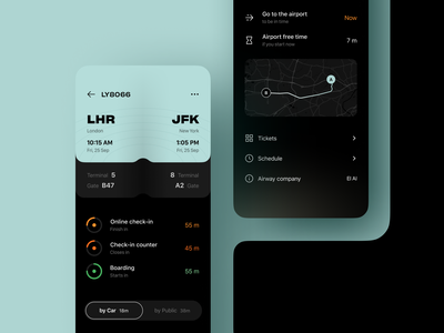 WeFly | Flight planner ✈️ ticket app flight ticket mobile ui mobile app check-in flight app time management schedule app ios app application timer app product design flight manager planner app design app