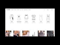 Online Store. Homepage