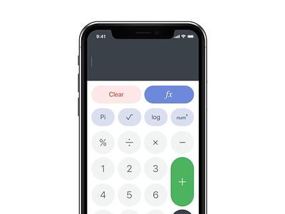 Daily UI #004 / Calculator daily 100 challenge dailyui daily 100 interaction calc math calculator concept zipl design ux ui applicaiton animation