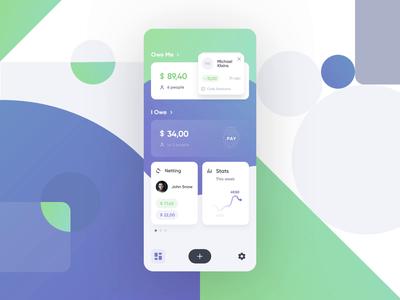 Debt Control App – Dashboard