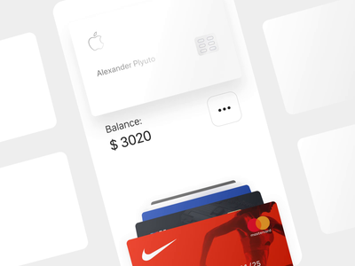 Smart Cardholder 💳 – Version 2 ios lend lending dashboard picker online banking money transfer flipping fintech finance credit card balance animation credit card concept carousel card banking balance application app